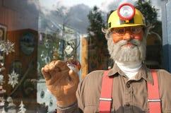 阿拉斯加的矿工 免版税库存图片