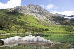 阿拉斯加的秀丽 免版税库存照片
