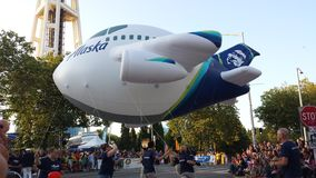 阿拉斯加的航空公司 库存图片