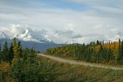 阿拉斯加的范围 免版税图库摄影