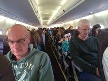 阿拉斯加航空公司的2217乘客 库存图片