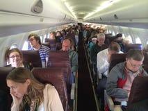 阿拉斯加航空公司的2217乘客 免版税库存图片