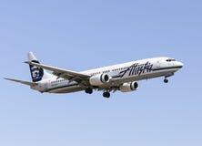 阿拉斯加航空公司 免版税库存图片