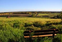 阿拉斯加长凳公园范围视图 免版税库存图片