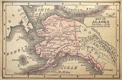 阿拉斯加领土 免版税库存图片