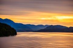 阿拉斯加风景 免版税库存图片