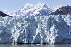 阿拉斯加风景` s的冰川 图库摄影