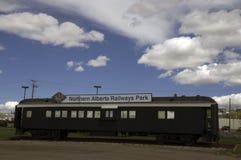 阿拉斯加高速公路火车站 库存照片