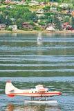 阿拉斯加-朱诺江边高峰时间 免版税库存图片