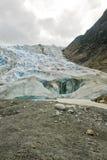 阿拉斯加-戴维森冰川 免版税库存照片