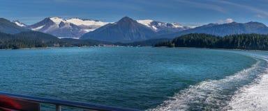 阿拉斯加auke海湾 免版税库存照片