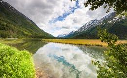 阿拉斯加Chugach国家森林 库存图片