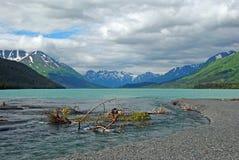 阿拉斯加kenai湖 免版税库存图片