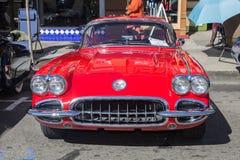 阿拉米达公园街道经典车展2014年 免版税图库摄影