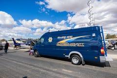 阿拉米达县警察局显示 图库摄影