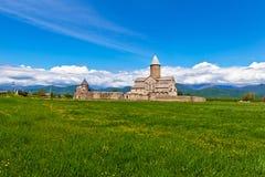 阿拉韦尔迪修道院在乔治亚 免版税库存图片