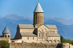 阿拉韦尔迪修道院在乔治亚 免版税库存照片