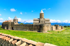 阿拉韦尔迪古老正统修道院复合体  库存图片