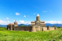 阿拉韦尔迪古老正统修道院复合体  免版税库存图片
