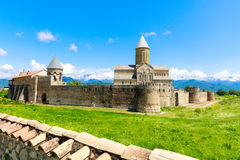 阿拉韦尔迪古老正统修道院复合体  免版税库存照片