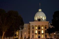 阿拉巴马国会大厦状态 免版税库存图片