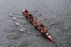 阿拉巴马大学在查尔斯赛船会妇女的冠军Eights头赛跑  库存照片