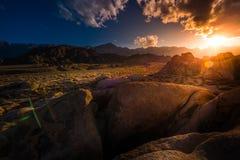 阿拉巴马小山加利福尼亚风景 免版税库存照片