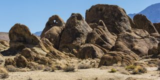 阿拉巴马小山的坚固性风景 免版税库存照片