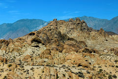 阿拉巴马小山,内华达山山,加利福尼亚,美国 免版税库存图片