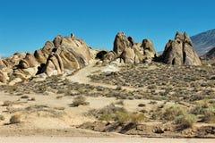 阿拉巴马小山,内华达山山,加利福尼亚,美国 库存照片