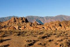 阿拉巴马小山,内华达山山,加利福尼亚,美国 图库摄影