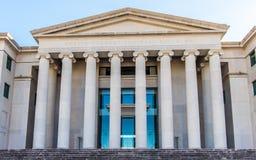 阿拉巴马最高法院的专栏 免版税图库摄影