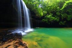 阿拉巴马瀑布风景 免版税图库摄影