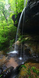 阿拉巴马高瀑布 免版税库存照片