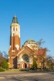 阿提拉teri Gorog教会在德布勒森-匈牙利 库存照片