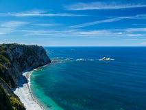阿斯图里亚斯海岸 免版税库存图片