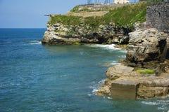 阿斯图里亚斯海岸10 库存图片