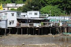 阿斯图里亚斯cudillero捕鱼西班牙村庄 免版税图库摄影