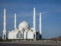 阿斯塔纳新的清真寺  库存照片