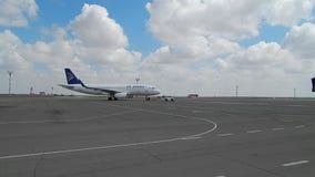 阿斯塔纳航空在阿克套 股票视频