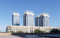 阿斯塔纳,哈萨克斯坦- 2016年8月12日:商业中心MILLENNIU 库存图片