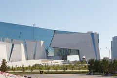 阿斯塔纳,哈萨克斯坦- 2016年8月12日:国家博物馆  免版税库存照片