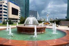 阿斯塔纳-哈萨克斯坦的首都 免版税库存照片