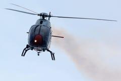 阿斯帕巡逻 航空器:5 x欧洲直升机公司EC120B Colibrà 免版税库存照片