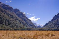 阿斯帕林山国家公园,新西兰 库存照片