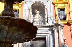 阿斯托加主教宫,马拉加 免版税图库摄影