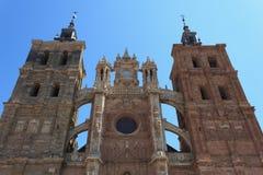 阿斯托加大教堂 库存照片