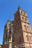 阿斯托加大教堂 图库摄影