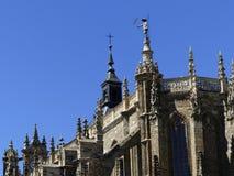 阿斯托加,利昂,西班牙,欧洲大教堂  库存照片