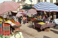 阿斯旺东方市场在埃及 库存照片